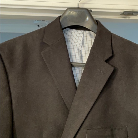 Ralph Lauren Black Sport Coat 44 R